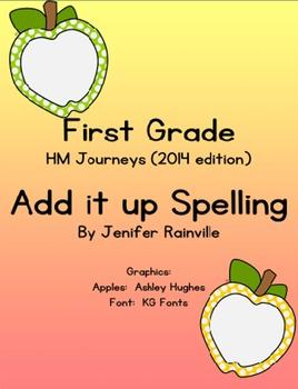 Journeys Spelling:  Add it up Apples