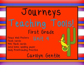 Journeys Teaching Tools!  First Grade Unit
