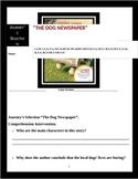 "Journey's ""The Dog Newspaper"" Comprehension & Vocabulary W"