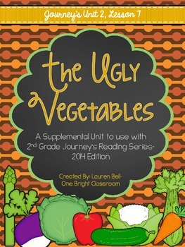Journeys- The Ugly Vegetables Supplemental Unit {Unit 2: L