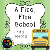 Third Grade: A Fine, Fine School (Journeys Supplement)