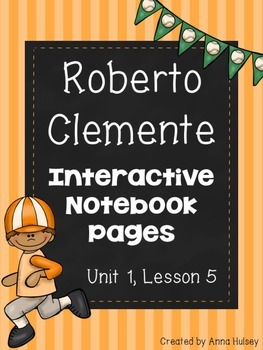 Roberto Clemente (Interactive Notebook Pages)