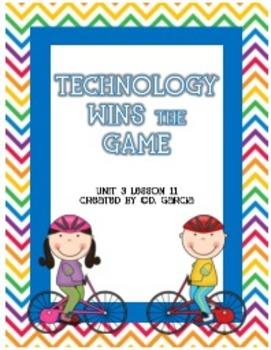Journeys Third Grade Technology Wins The Game