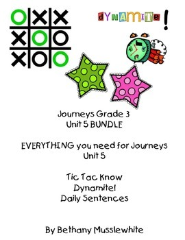 Journeys Third Grade Unit 5 BUNDLE