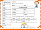Journeys Third Grade Weekly Homework and Vocabulary Skills