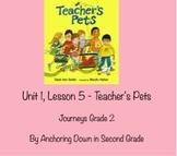 Journeys Unit 1, Lesson 5 Teacher's Pets Smartboard Intera