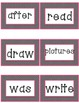 First Grade Journeys Unit 1 and 2 Word Wall Cards - High F