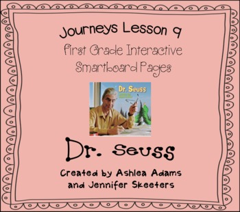 Journeys (2011-2012) Unit 2 Lesson 9 Smartboard First Grade