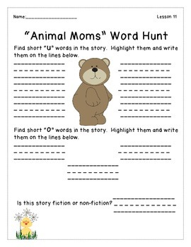 Journeys- Unit 3: Decodable Reader Story Hunts
