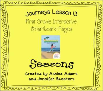 Journeys (2011-2012) Unit 3 Lesson 13 Smartboard First Grade