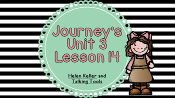 Journeys Unit 3 Lesson 14 Vocabulary Introduction Powerpoint