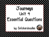 Journeys Unit 4 Essential Questions