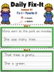 Journeys Unit 5 Daily Fix-It Foldables & Centers -1st Grade