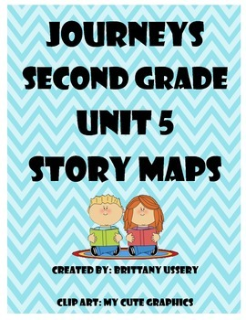 Journeys Unit 5 - Second Grade - Story Maps Graphic Organizer