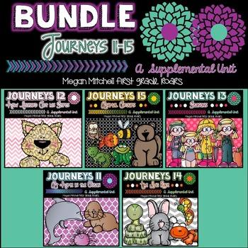 Journeys: Unit Three Bundle  11-15