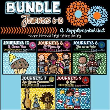 Journeys: Unit Two Bundle 6-10