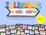 Journeys Vocab Cards for Comprehension Skills & Strategies