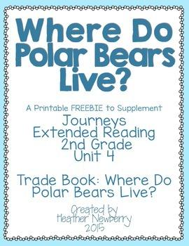 Journeys: Where Do Polar Bears Live? (Unit 4, Extended Reading)