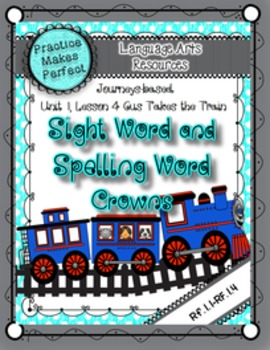Journeys Sight and Spelling Word Crowns: Lesson 5 Gus Take