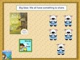 Journeys first grade smartboard Unit 2 Lesson 6