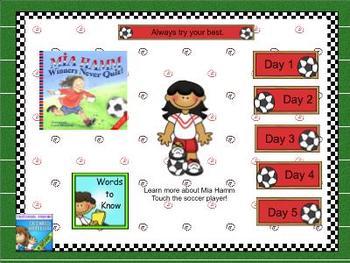 Journeys first grade smartboard Unit 6 Lesson 30