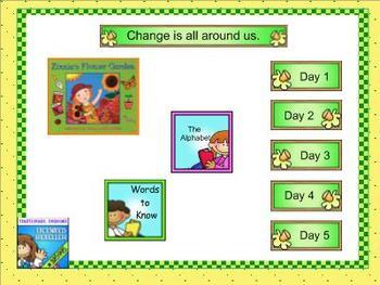 Journeys kindergarten smartboard Unit 5 Lesson 23