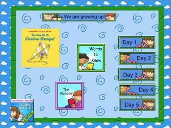 Journeys kindergarten smartboard Unit 6 Lesson 28