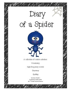 Journeys unit 1 Lesson 4- Diary of a Spider