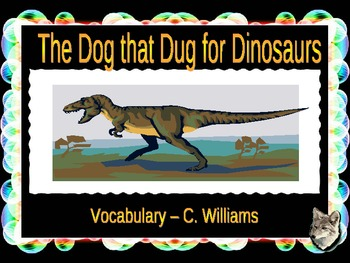 Journeys - Lesson 27 - The Dog That Dug for Dinosaurs - vo