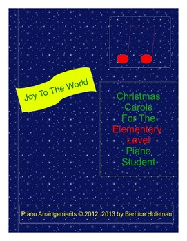 Joy To The World from the Christmas Carols collection