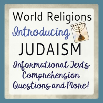 Judaism World Religions Introduction Informational Texts,