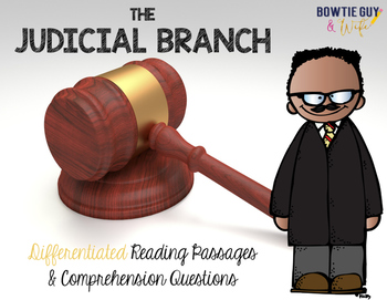 Judicial Branch of Government {Differentiated Reading Pass