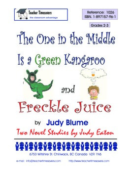 Judy Blume - Freckle Juice & The One in the Middle is a Gr