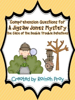 The Case of the Double Trouble Detectives Jigsaw Jones Com