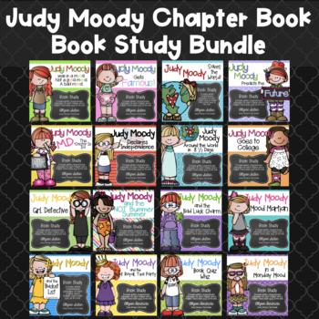 Judy Moody Book Study Bundle {All 12 Books in series}