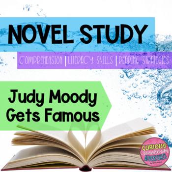 Judy Moody Gets Famous Novel Study