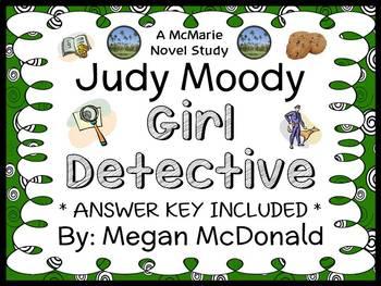 Judy Moody Girl Detective (Megan McDonald) Novel Study / C