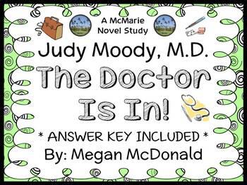 Judy Moody, M.D. The Doctor Is In! (Megan McDonald) Novel