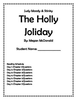 Judy Moody & Stink: The Holly Joliday (Book Club with ques