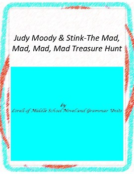 Judy Moody & Stink The Mad, Mad,Treas Hunt with Literary a