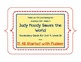 Judy Moody, Vocabulary Cards, Unit 4, Lesson 16, Journeys