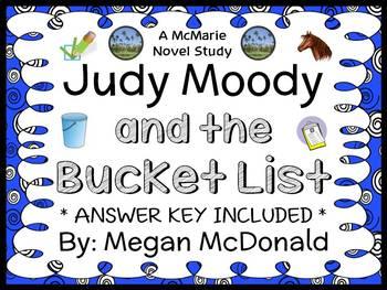 Judy Moody and the Bucket List (McDonald) Novel Study / Co