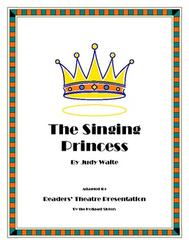 "Judy Waite ""The Singing Princess"" - A Readers' Theatre Pre"