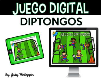 Juego Digital de Diptongos