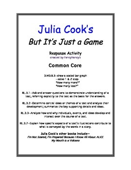 Julia Cook But It's Just a Game