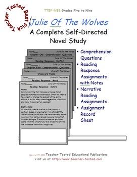 Julie Of The Wolves: A Complete Novel Study