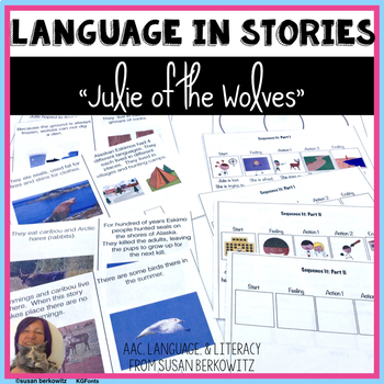 Julie of the Wolves Language  Materials for Special Educat