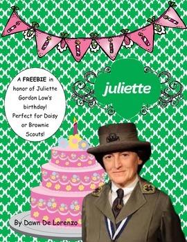 Juliette Gordon Low Pumpkin Biography Craft {FREE!} Girl S