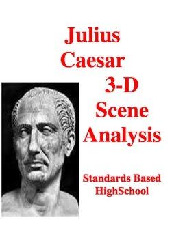 Julius Caesar: 3-D Scene Analysis Project: Standards Based