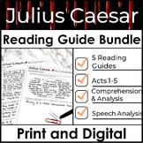 Julius Caesar Reading Guide - ULTIMATE BUNDLE